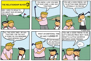 Pricing Comic Relationship Buyer