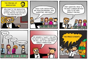 Pricing Comic - The Pricing of Innovation LR
